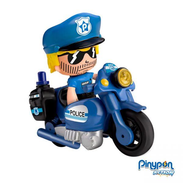 Pinypon Action Veículo de Ação Polícia