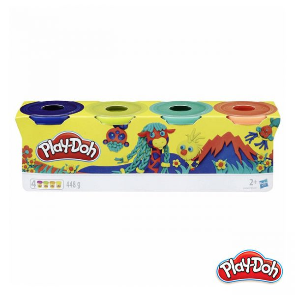 Play-Doh – Pack 4 Potes Floresta