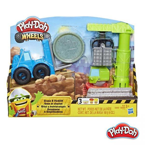 Play-Doh – Wheels Grua e Empilhador