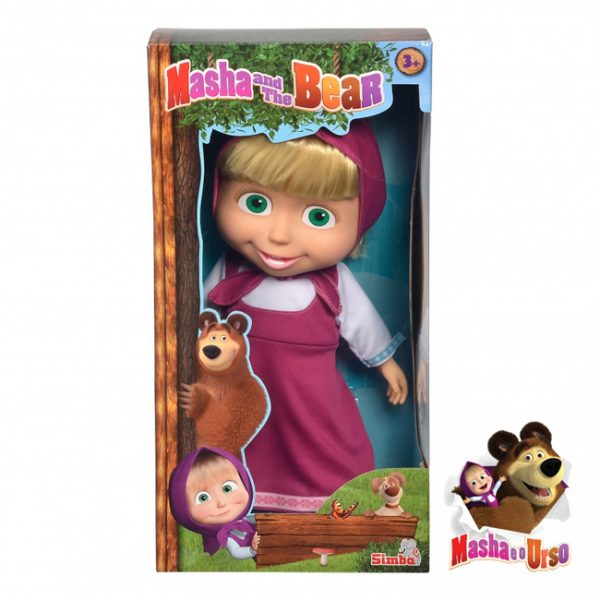 Masha e o Urso – Boneca Masha 40cm