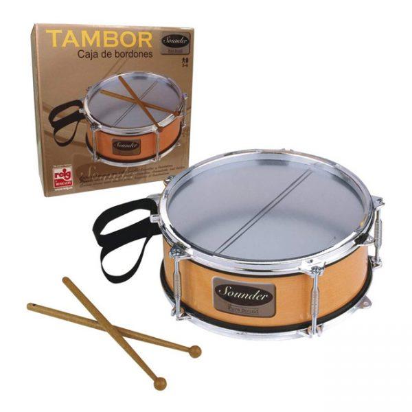 Tambor Sounder Metalizado