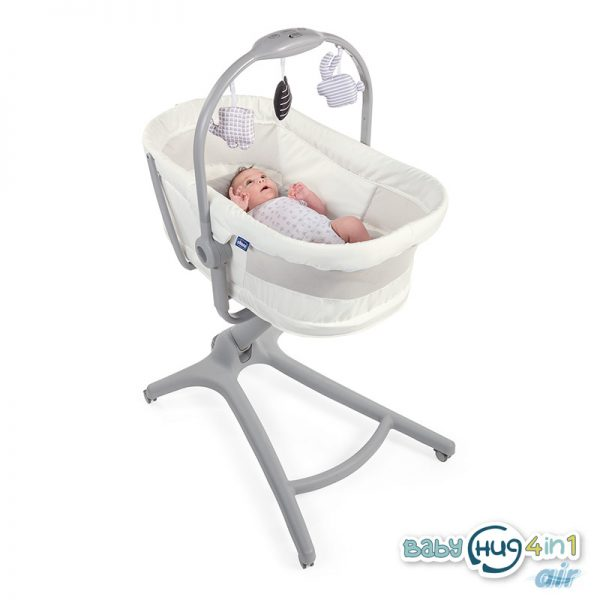 Chicco Baby Hug Air 4 in 1 White Snow