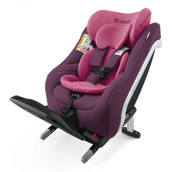 Cadeira Concord Reverso Plus i-Size Carmin Pink