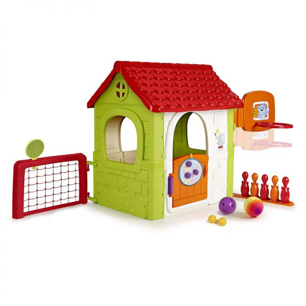 Feber Multi Activity House 6in1