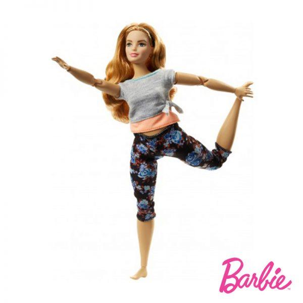 Barbie Movimentos Ruiva