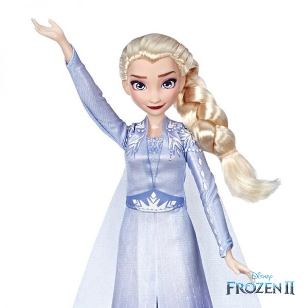 Frozen II Boneca Elsa Canta