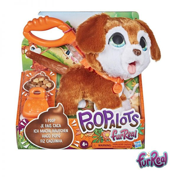 Mascote Poop a Lots Cãozinho