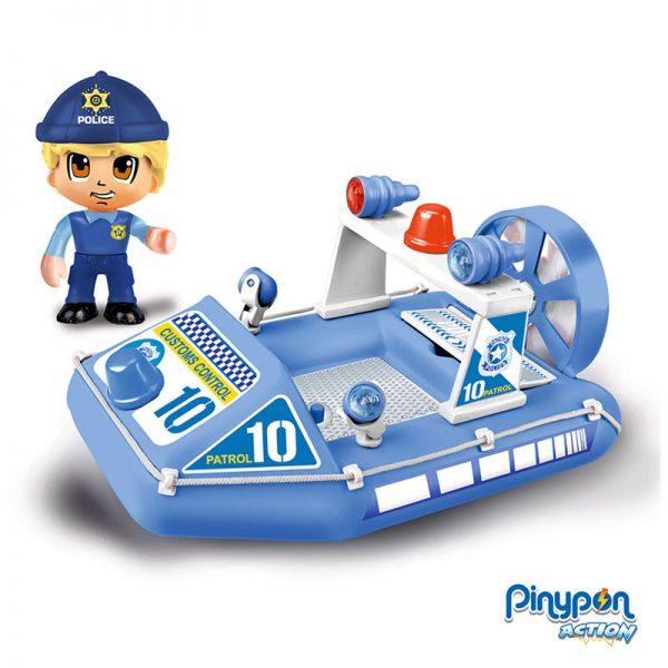 Pinypon Action Lancha de Polícia