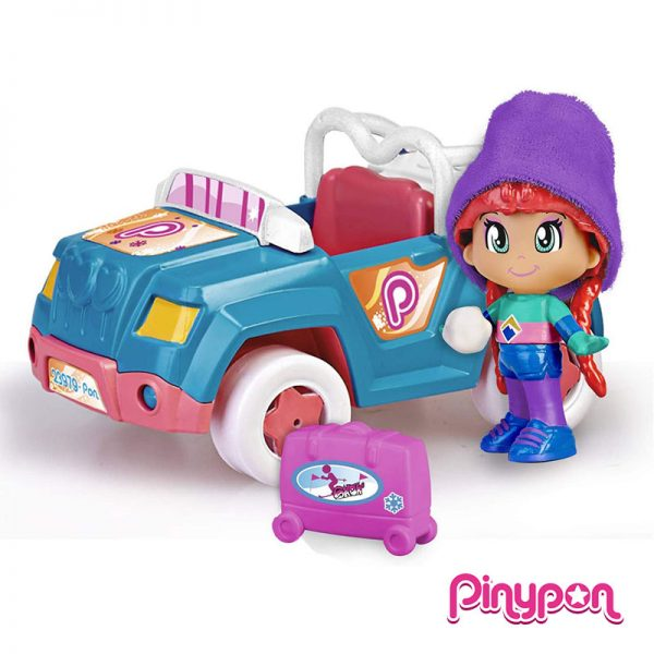 Pinypon Carro de Neve c/ Reboque