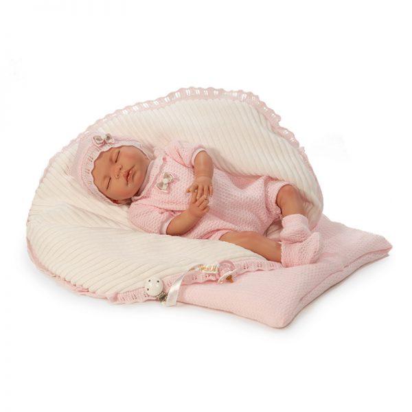 Bebé Reborn Sandra c/ Manta