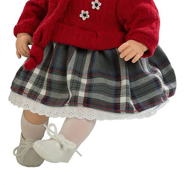 Boneca Maria Roupa Vermelha