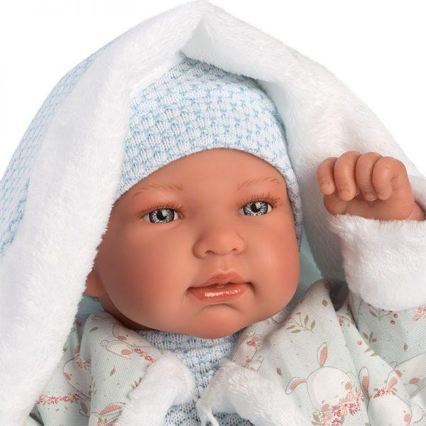 Boneco Tino Recém-Nascido c/ Gorro