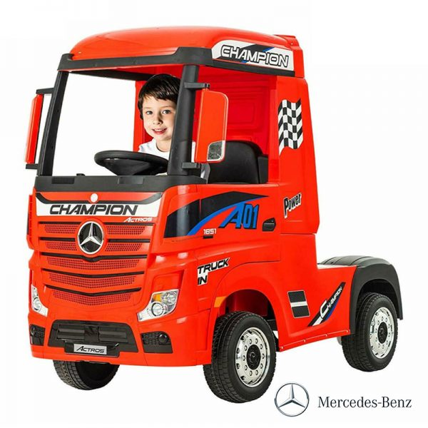 Camião Mercedes Actros 12V c/ Controlo Remoto