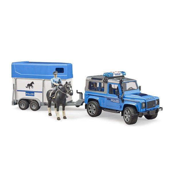 Jipe Land Rover Defender Polícia c/ Atrelado