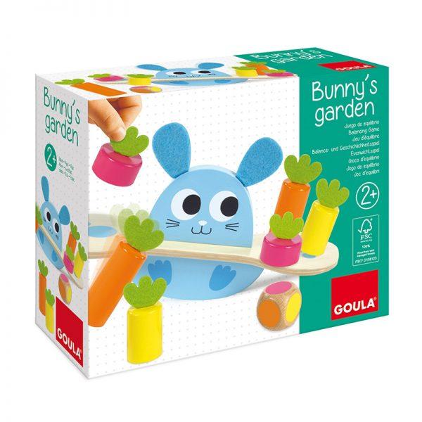 Jogo de Equilíbrio Bunny's Garden
