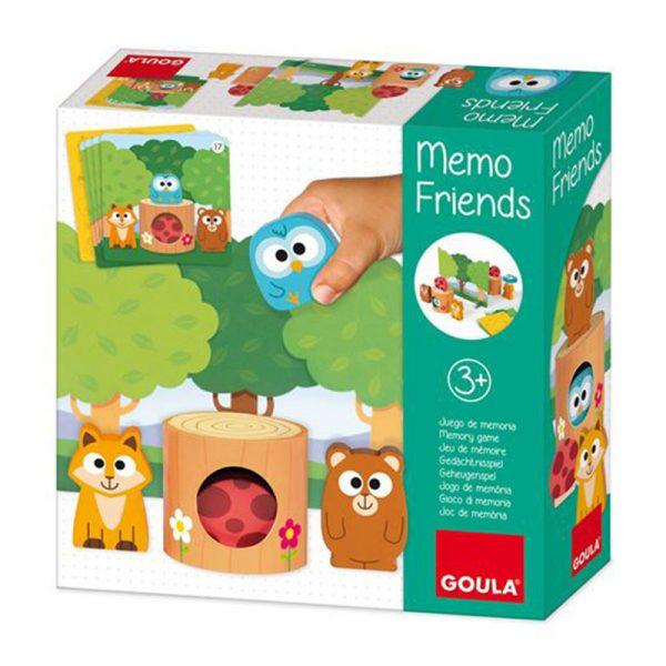 Jogo Memo Friends Goula