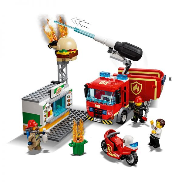 LEGO City – Combate o Fogo no Bar de Hambúrgueres 60214