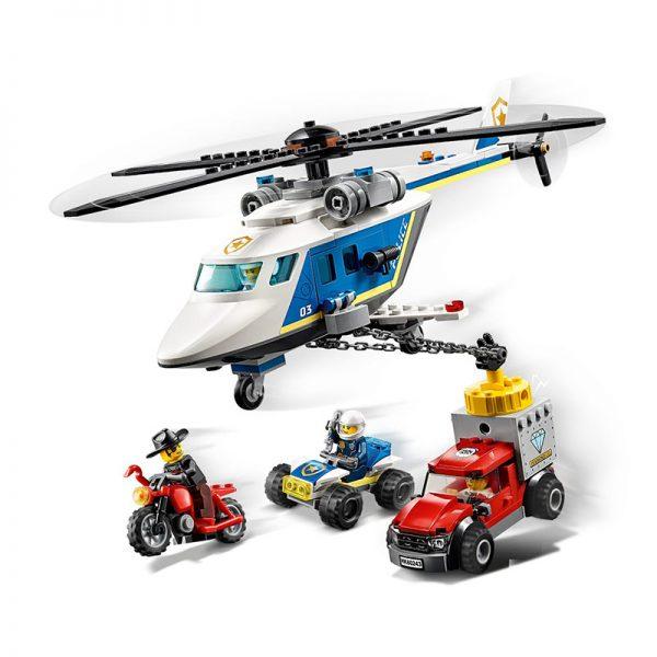 LEGO City – Perseguição Policial de Helicóptero 60243