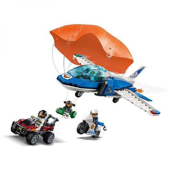 LEGO City – Polícia Aérea Detenção Paraquedas 60208