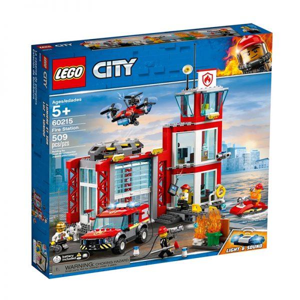 LEGO City – Quartel dos Bombeiros 60215