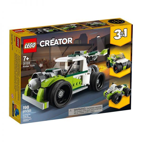 LEGO Creator – Camião Foguete 31103