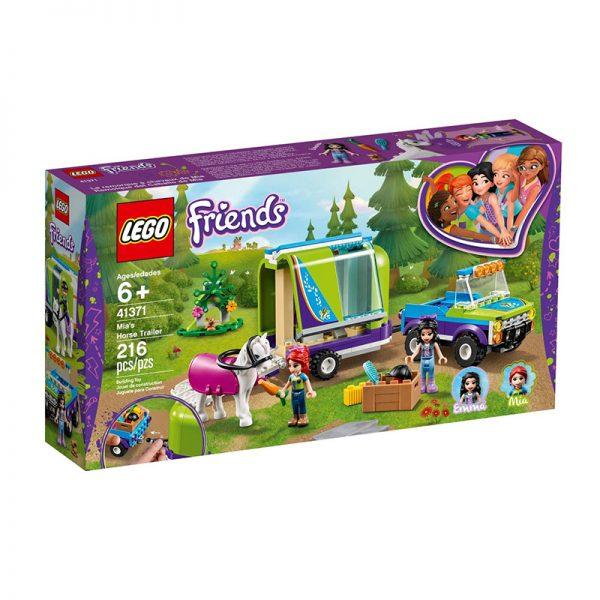 LEGO Friends – Atrelados Cavalos da Mia 41371