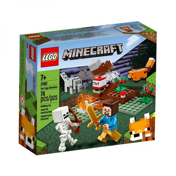 LEGO Minecraft – Aventura em Taiga 21162