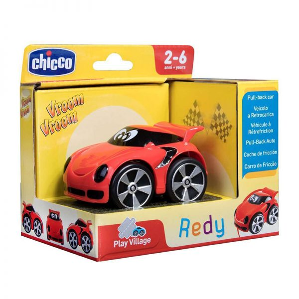 Mini Turbo Touch Redy Vermelho