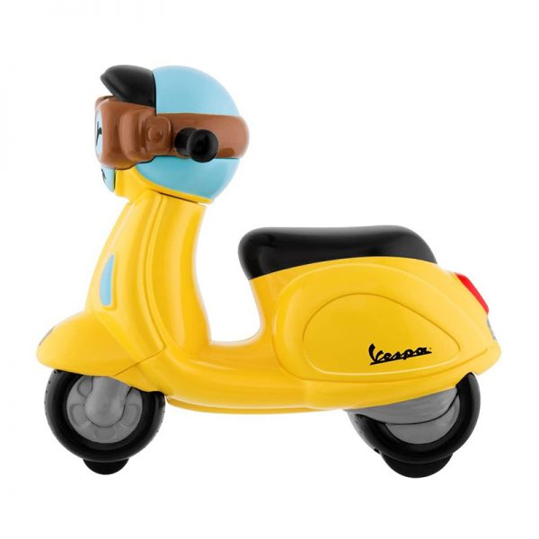 Mini Vespa Amarela