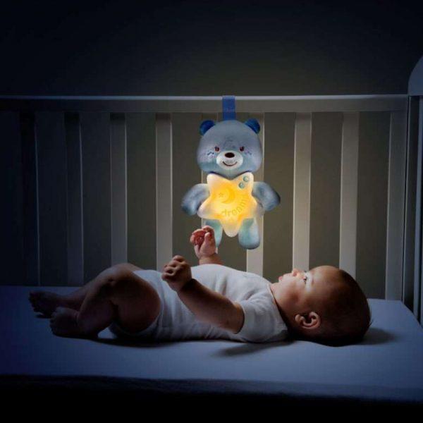 Painel Ursinho Boa Noite – Azul