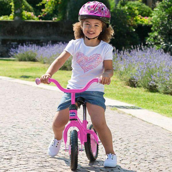 Primeira Bicicleta Chicco Rosa
