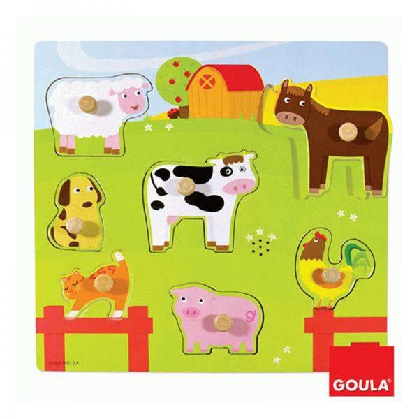 Puzzle Animais da Quinta c/ Som