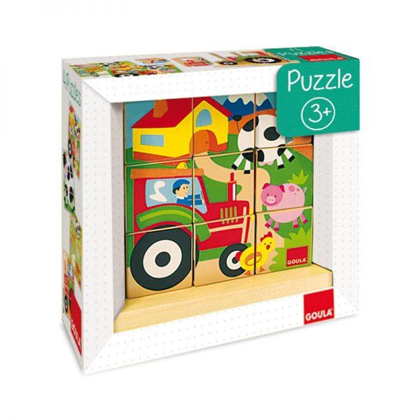 Puzzle Cubos da Quinta