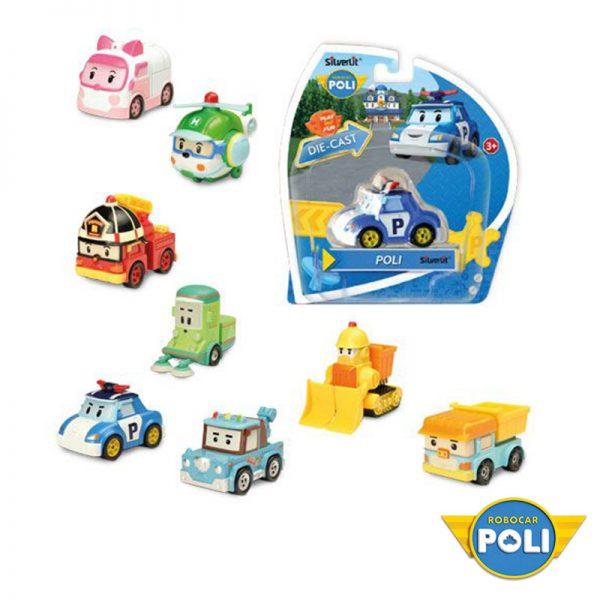 Robocar Poli – Figuras Die Cast