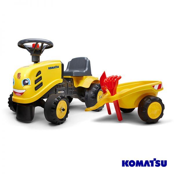 Trator Baby Komatsu + Reboque