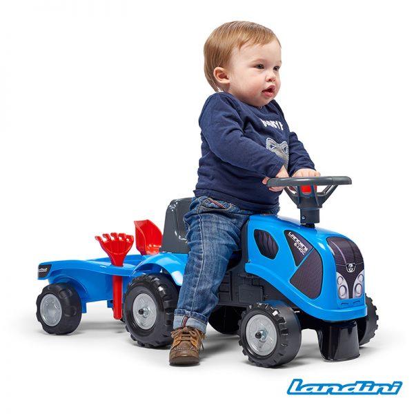 Trator Baby Landini + Reboque