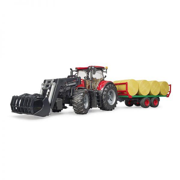 Trator Case Ih Optum 300CVX + Carregador Frontal