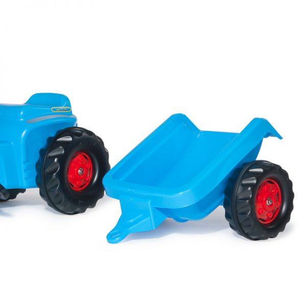 Trator RollyKiddy Classic + Reboque