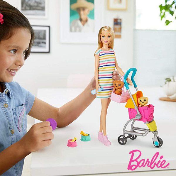Barbie Passeio c/ Cachorros