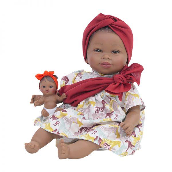 Boneca Maria Mulata c/ Bebé – Branco