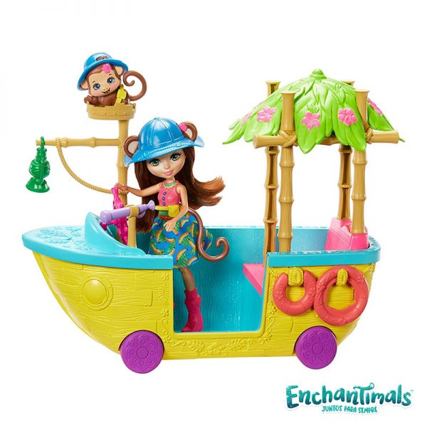 Enchantimals Barco da Selva