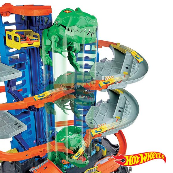 Hot Wheels – City Mega Garagem