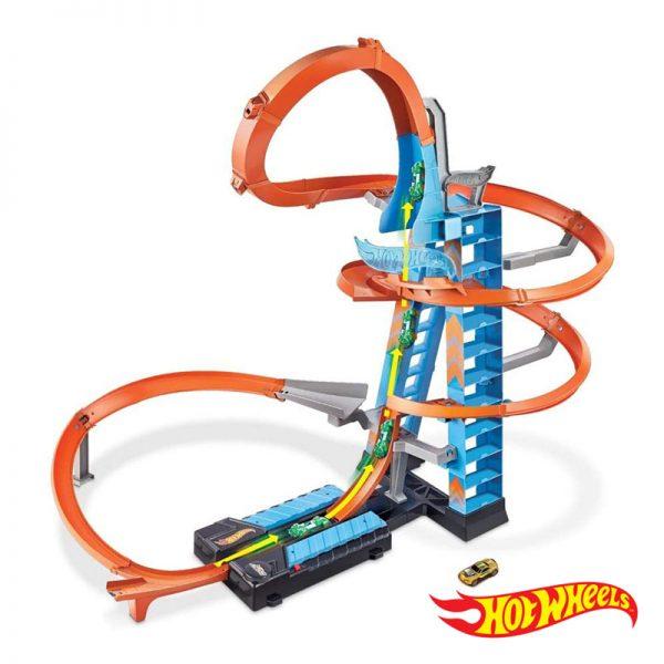 Hot Wheels – Pista Sky Crash Tower