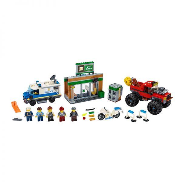 LEGO City – Assalto Policial ao Camião Gigante 60245