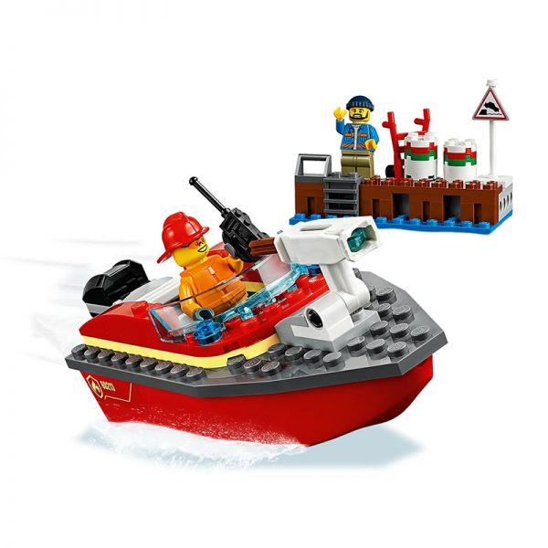 LEGO City – Incêndio da Doca 60213