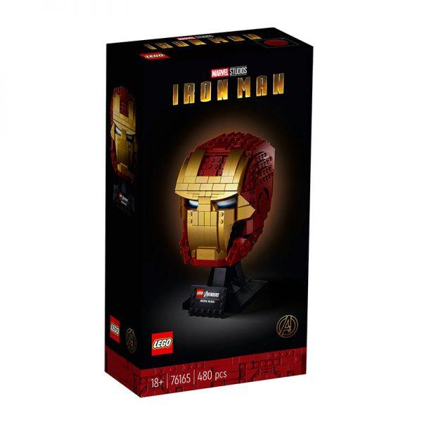 LEGO Heroes – Capacete do Iron Man 76165