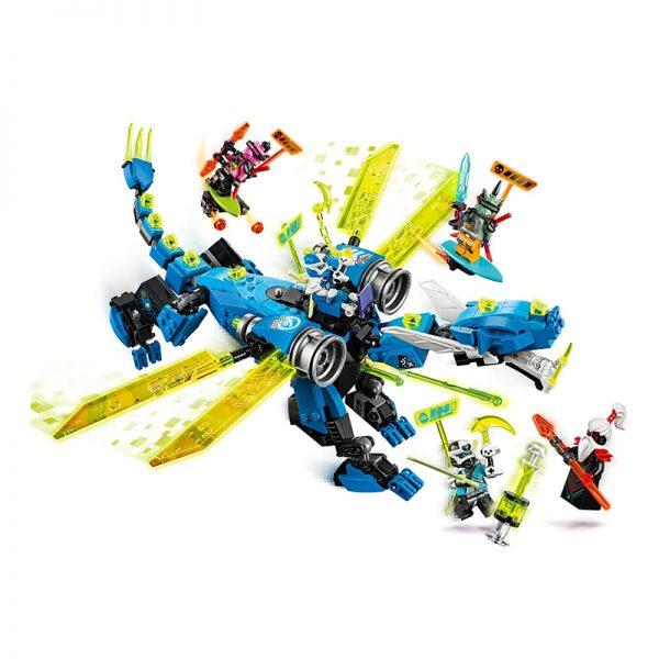 LEGO Ninjago – Ciber Dragão do Jay 71711