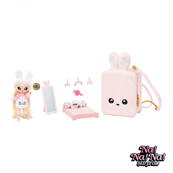 Na Na Na Playset Surprise Mochila Pink Bunny