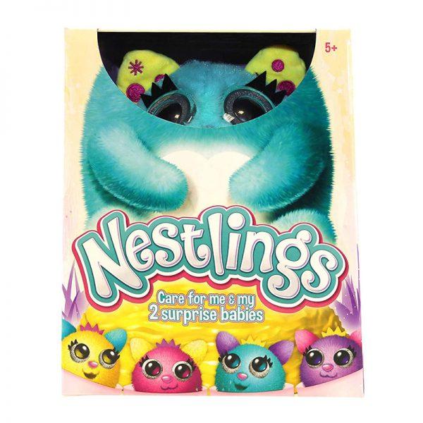 Nestlings Azul – Peluche Interativo