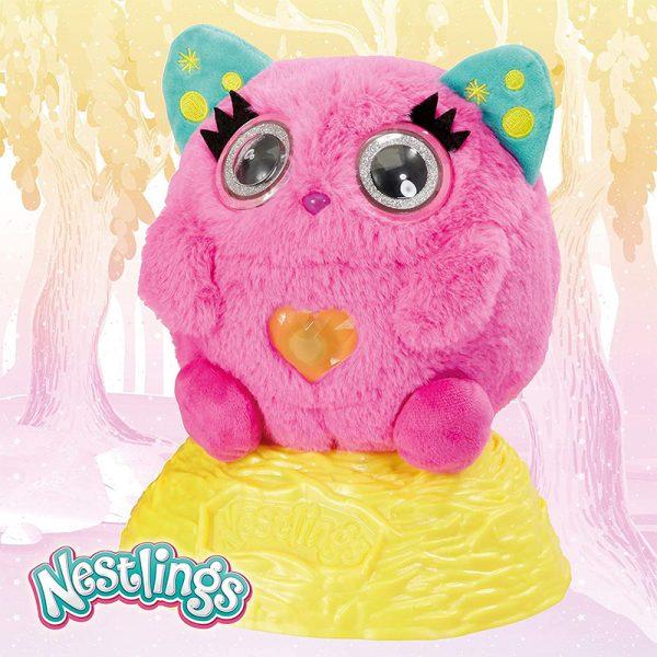 Nestlings Rosa – Peluche Interativo